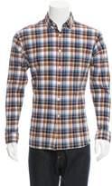 Billy Reid Plaid Button-Up Shirt w/ Tags