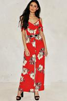 Nasty Gal You've Really Grown Floral Jumpsuit
