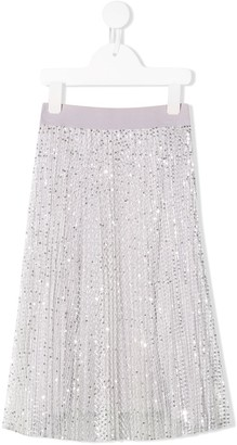 MonnaLisa Sequin Skirt