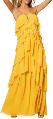Ramy Brook Alora Tiered Maxi Dress
