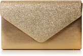 SwankySwans Kelly Glitter Womens Envelope Clutch Bag Party Prom Wedding Ladies Bag