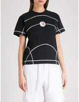 Craig Green Cutout cotton-jersey T-shirt
