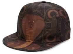 Givenchy Cobra Print Hat