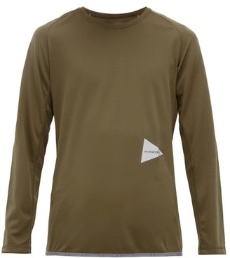 BEIGE And Wander - Logo-print Long-sleeve T-shirt - Mens