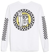 Hanes Free&easy Minion Surfboard Long Sleeve T-Shirt