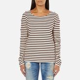 Maison Scotch Women's Long Sleeve Breton TShirt - Multi