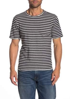 Joe's Jeans Engineered French Terry Stripe Print T-Shirt