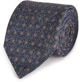 Reiss Ware - Silk Dot Tie in Blue, Mens