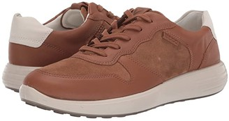 Ecco Soft 7 Runner Classic (Camel/Camel/Shadow White) Men's Shoes