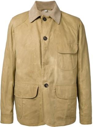 Kent & Curwen Panelled Shirt Jacket