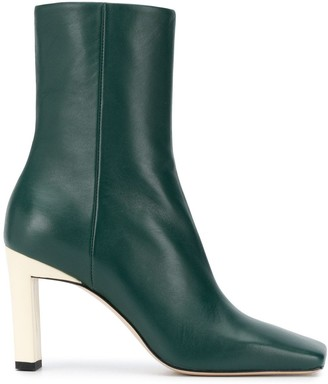 Wandler Isa 85mm leather boots