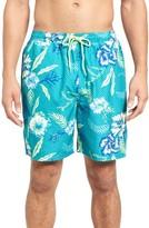 Vineyard Vines Men's Aquatic Hibiscus Cabana Swim Trunks