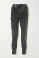 Reformation Net Sustain High-rise Slim-leg Jeans - Gray