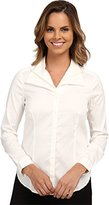 NYDJ Women's Novelty Collar Fit Solution Blouse