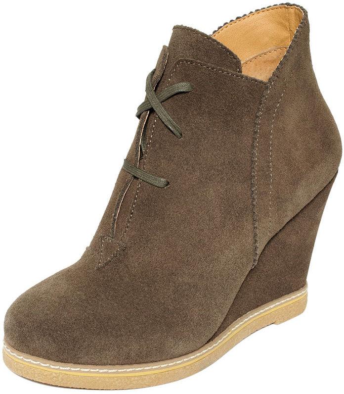 Kelsi Dagger Shoes, Helix Wedge Booties