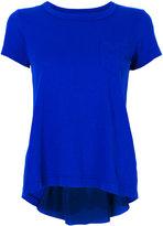 Sacai back pleat detail T-shirt