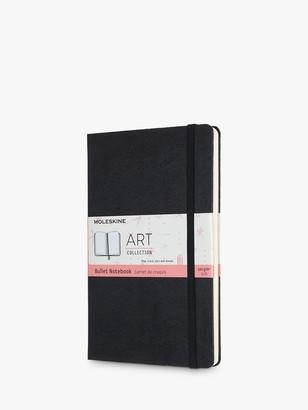 Moleskine Large Art Bullet Notebook, Black