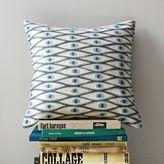 Allegra Hicks Lucky Eye Crewel Pillow Cover