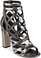GUESS Women's Eriel Cage Sandals