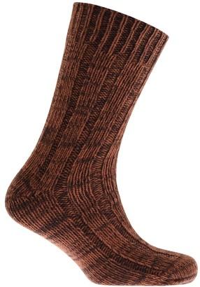 Birkenstock Twist Boot Socks Brown