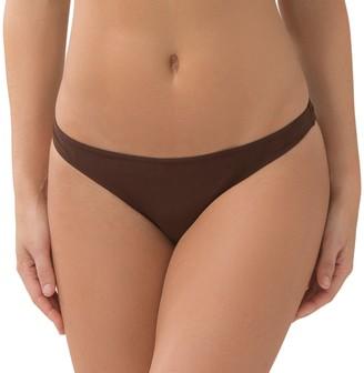 Smart & Sexy Women's Swim Secret Teeny Bikini Bottom Root Beer XL