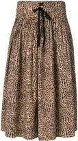 Ulla Johnson Evelyn cheetah print skirt