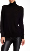 Vince Wool Blend Superwash Turtleneck Sweater