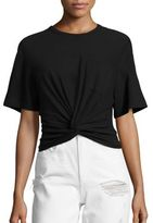 Alexander Wang Twist Cotton Jersey Tee