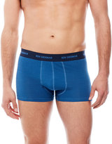 Ben Sherman Two-Pack Stripes & Solid Trunks
