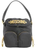 Moschino Messenger Bag With Logo Lettereing