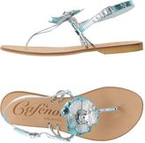 CAFe'NOIR Thong sandals