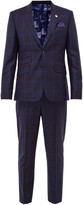 Checked Two-piece Suit