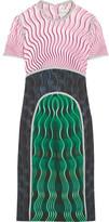 Mary Katrantzou Vitriol Printed Crepe Dress - Green