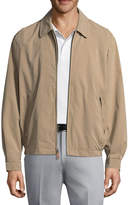London Fog Microfiber Bomber Jacket