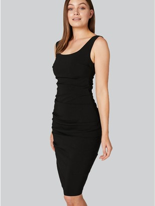 M&Co Ruched Bodycon Dress