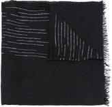 Faliero Sarti metallic detail scarf