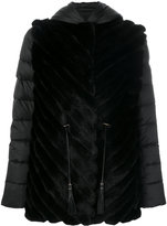 Liska fur detail jacket