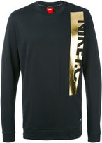 Nike F.C. metallic logo sweatshirt - men - Cotton - S