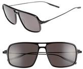 Salt Men's Burkhart 59Mm Polarized Sunglasses - Black/ Black Sand