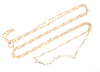 Sophie Ratner 14K Gold Diamond Necklace
