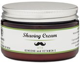 Chiefs Shaving Cream For Men - Incredible Energizing Feel & Mint Scent Including Ginseng, Rosemary, and Eucalyptus - Perfect Wet Shave with Brush & Straight Razor - 4oz. 60 Day Guarantee.