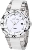 Pierre Petit Men's Quartz Watch Colmar P-807B with Metal Strap