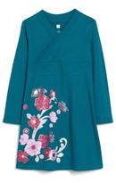 Tea Collection Toddler Girl's Ingram Street Print Wrap Neck Dress
