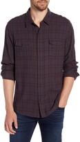 Paige Everett Regular Fit Plaid Button-Up Flannel Shirt