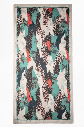 Zadig & Voltaire Maxy Patchwork Paradise Scarf