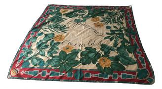 Cartier Green Silk Scarves