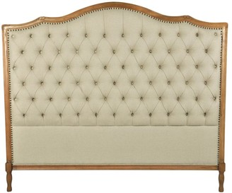 One World Phillips Tufted King Bed Head