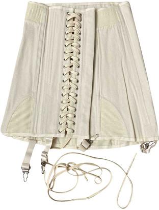 Orseund Iris Beige Cotton Skirts