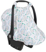 Bebe Au Lait Infant 'Peacock' Muslin Car Seat Cover