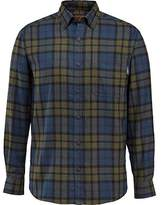 Wolverine Men's Hammond Long Sleeve Two Sided Brushed Flannel Shirt